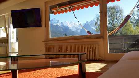 Schöne, geräumige ein Zimmer Wohnung in Garmisch-Partenkirchen (Kreis), Garmisch-Partenkirchen in Garmisch-Partenkirchen