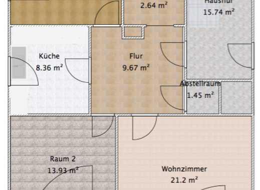 Helle 3 Zimmer Wohnung Essener Süden - Kettwig (frisch renoviert)