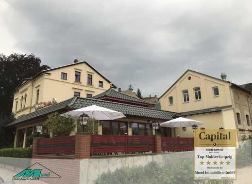 Speise-Gaststätte und Nebengebäuden mit sanierter Villa/ MFH in Altenburg