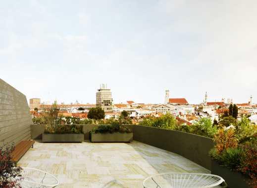 Penthouse mit Blick über die Isar und die Innenstadt