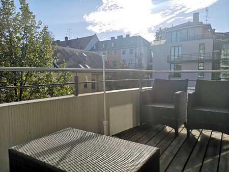 SCHICKE großzügige und helle sowie TOPMÖBLIERTE 3-Zi-Whg,ca.104 m²,großer Balkon 9m²,TOP-SCHWABING in Schwabing (München)