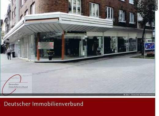 Mit 40 m Eck-Schaufensterfront in gut frequentierter Lage für Geschäft, Büro, Ausstellung, …