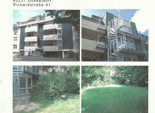 Gemütliche Studentenappartament  mit Balkon in Düsseldorf.