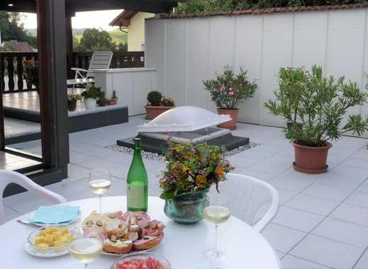 4 Zimmer Terrassenwohnung 111 m² gesamt, verteilt auf zwei Etagen, in Passau-Hals