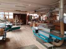 Schreinerwerkstatt zur Mitbenutzung Lagerplatz frei