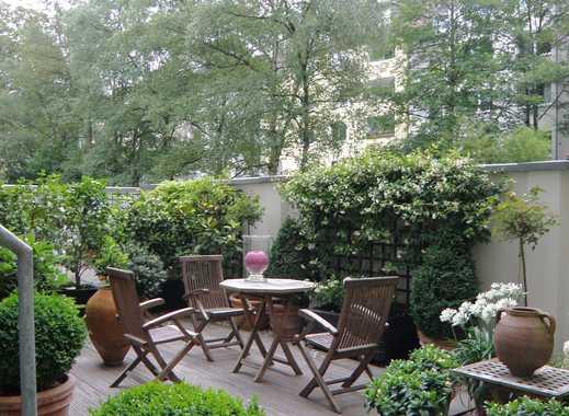 Df.-Golzheim: Attraktive 3-Raum-Wohnung mit großer Gartenterrasse/Garten direkt am Kolpingplatz