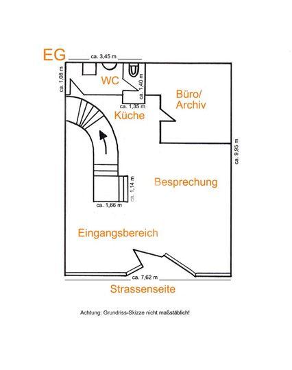 Grundrissskizze EG