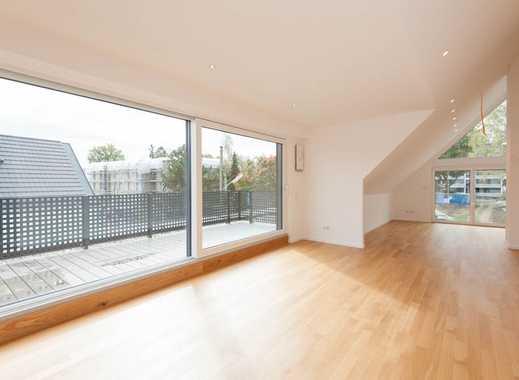 KAPITALANLAGE mit 3,2% Rendite p.a.:  Fertiger Neubau - Dachgeschosswohnung im modernen Ambiente in
