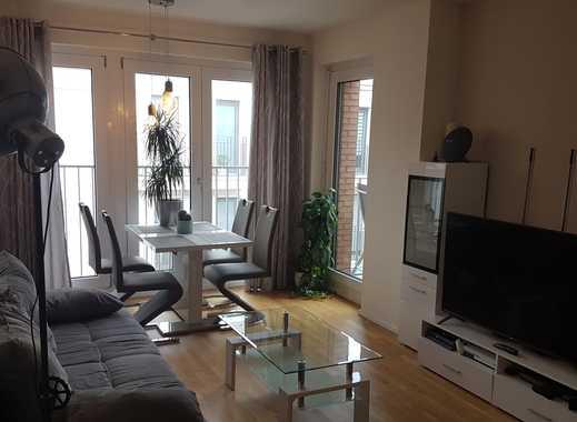 Stilvolle möblierte 2-Zimmer-Wohnung mit Balkon im Ostend zur Untermiete (Okt-Dez 19)
