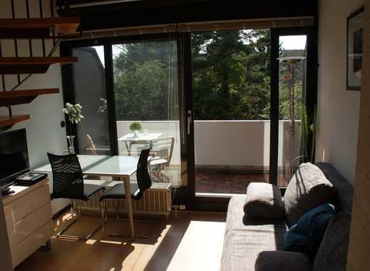 Bestlage Südstadt: Möblierte Maisonette, zwei Balkone, Garage, W-LAN. Ruhig, hell & modern