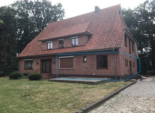 3-Zi Wohnung, Einbauküche, Kaminofen, überdachte Terrasse, ruhig und idyllisch gelegen