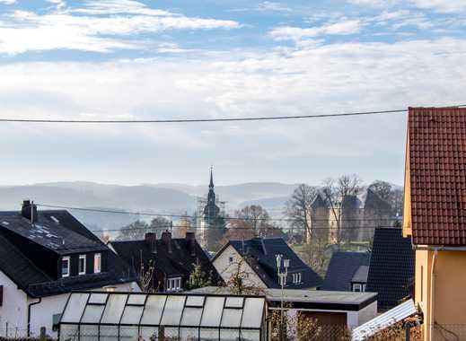 Die Burg Schauenstein voll im Blick