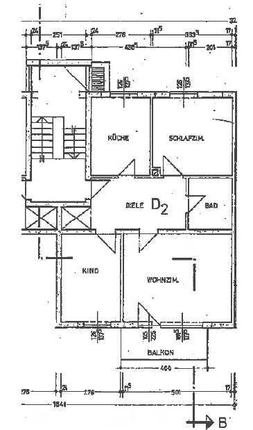 Schöne drei Zimmer Wohnung in Waldkraiburg  in Waldkraiburg