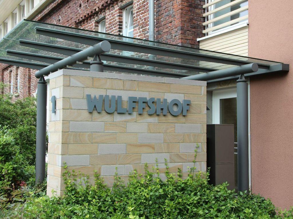 Wulffshof Eingang
