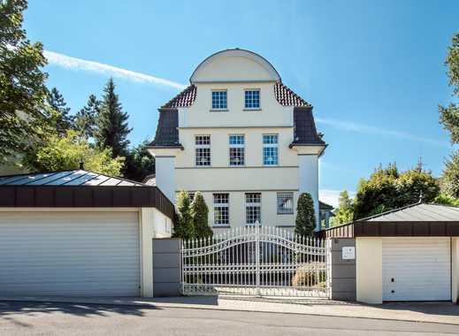 Wohnen nahe der Villa Hügel: 400 m² große Stadtvilla - saniert und im Bestzustand