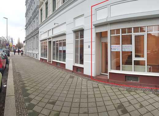 Schicke kleine Ladeneinheit sucht neuen Mieter!!! + mit WC + elektrische Außenjalousien