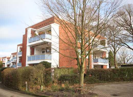 CLASSIC IMMOBILIEN: Gepflegte 3 Zimmer-Wohnung mit großem Balkon am Forst Klövensteen