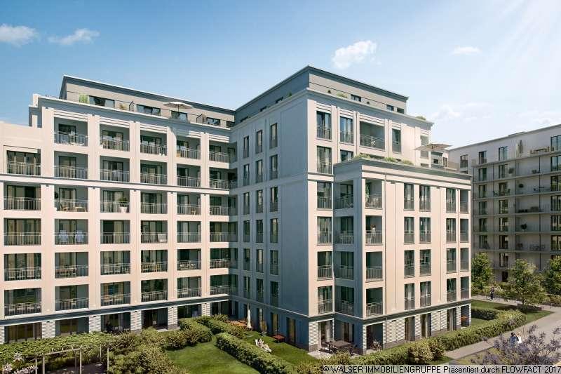 The Grand - Bogenhausen - 2-Zi.-Neubau-Whg mit großzügigem Balkon im Innenhof in