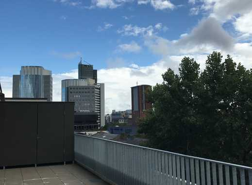 Über den Dächern Offenbachs//Penthouse der Extraklasse//große Süd-Dachterrasse