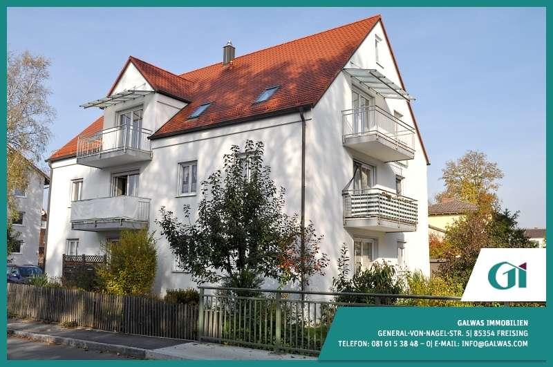 GI** Große 3-Zi.-Whg mit Balkon in Freising in