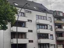 Rückwärtiges 1-Zimmer-Appartement am Mühlendamm - mit Balkon