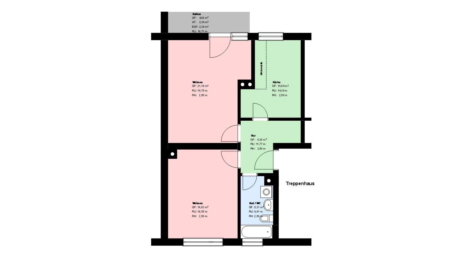 *Sendling *2 Zimmer *möbliert* Wohnküche mit EBK * Bad mit Wanne *Keller in Sendling-Westpark (München)