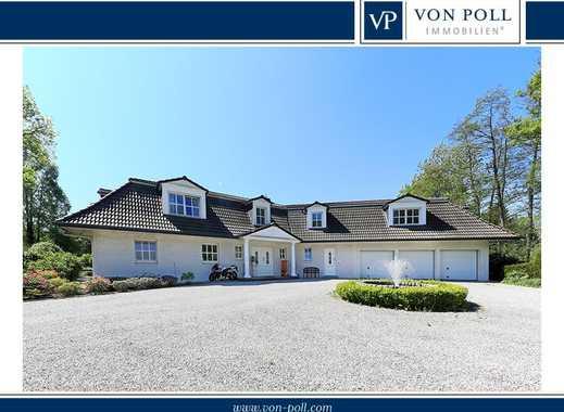 Villa mit Metropole Hamburg als Nachbarn