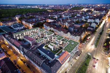 Erstbezug: stilvolle 3-Zimmer-Wohnung mit Einbauküche(Granit, Induktion KF) und Loggia in Nürnberg in Muggenhof (Nürnberg)