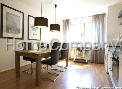 Moderne und komplett renovierte Wohnung mit Charme In Laufweite zum Hauptbahnhof Bochum, mit Inte...