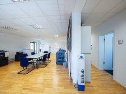 Eingangsbereich als Büro Be...