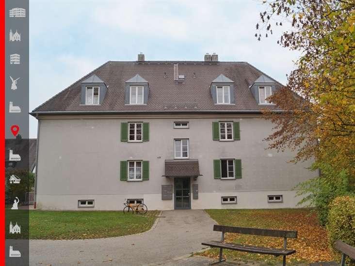 Helle 3-Zimmer-Whg mit Balkon und geräumiger Küche in Oberschleißheim