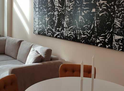 2 Zimmer Altbau-Wohnung mit Balkon komplett saniert und möbliert im Trendviertel Flingern Nord