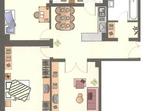Freundliche 3-Zimmer-Wohnung mit Balkon in Kehl