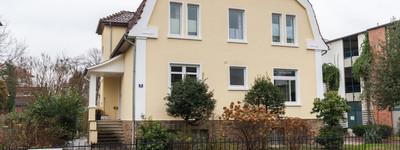 Möblierte 2 Zi. Wohnung mit  Südbalkon in sanierter Altbauvilla im Zentrum von Bad Oeynhausen