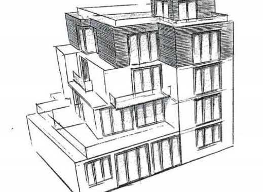 Bauträger aufgepasst! Baugrundstück mit fertigen Plänen etc. für ein exklusives MFH in bester Lage!