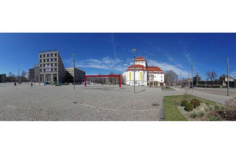 Blick von Postplatz