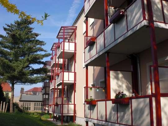 2-Raumwohnung mit Balkon in ruhiger Lage