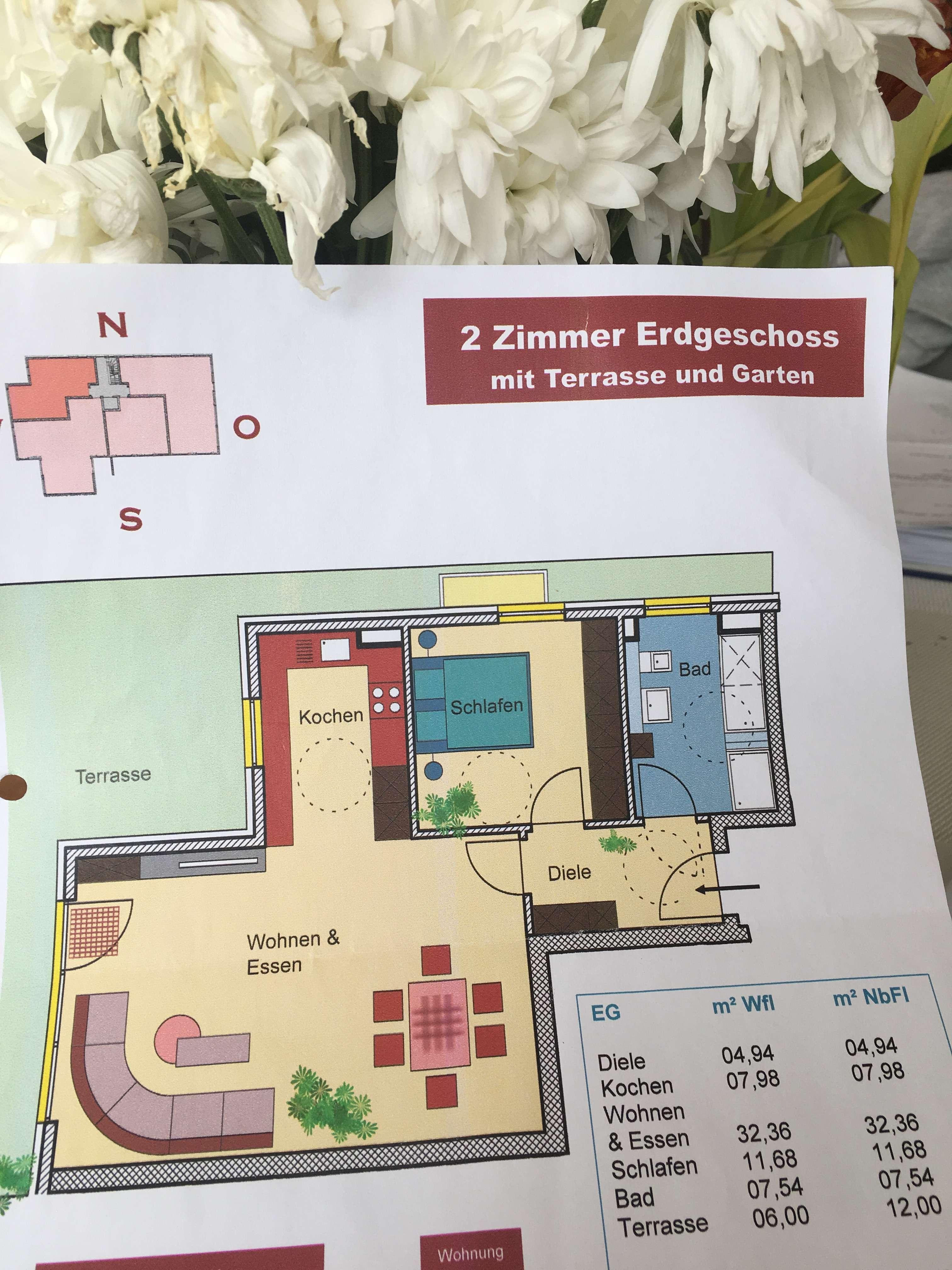 Exklusive 2-Zimmer-Wohnung mit Balkon und EBK in Dachau