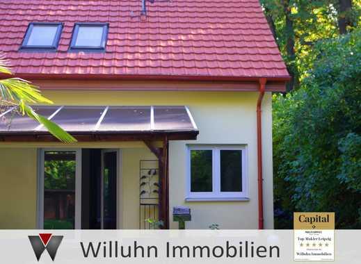 Wunderschöne Doppelhaushäfte in Holzhausen, idyllische Lage, 4 Zimmer
