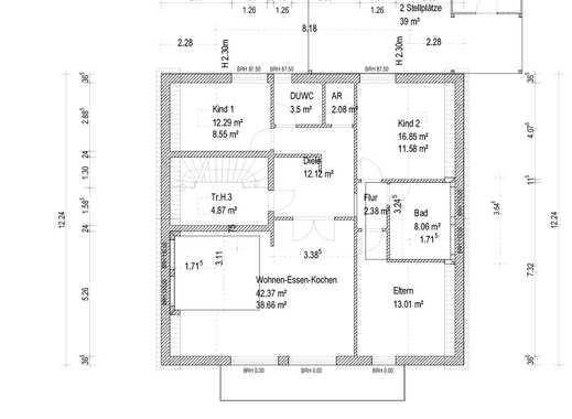Schöne und neue 4 Zimmerwohnung in Fulda