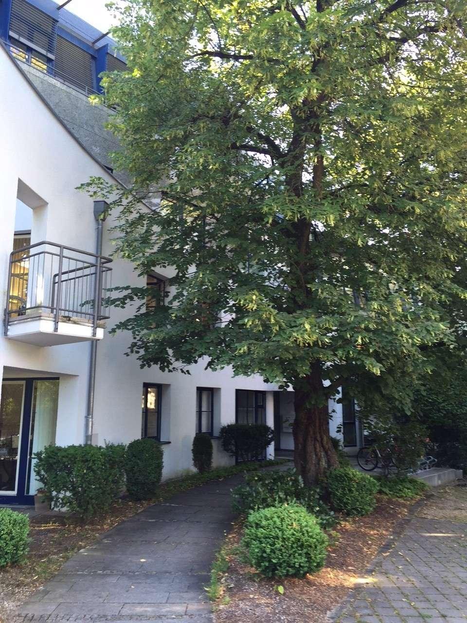 Nymphenburg, Arnulfstraße, Nähe Romanplatz: Helle 3-Zi.-Wohnung mit Terrasse und Gartenanteil