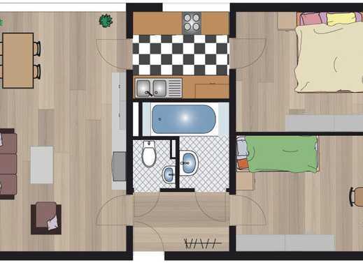 Attraktive 3-ZW in gepflegtem Wohnhaus