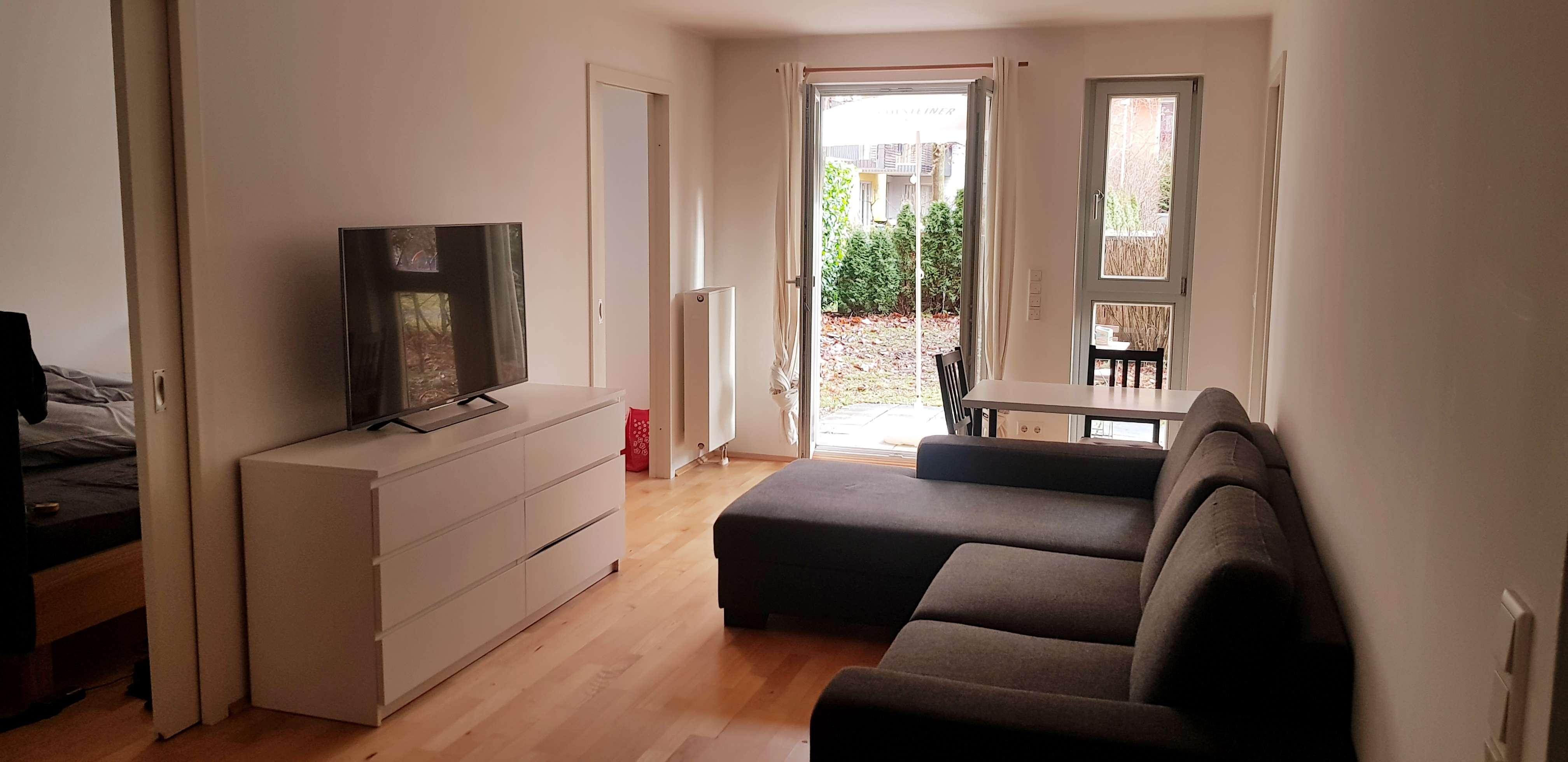 2-Zimmer mit EBK und 60m2 Garten in Ramersdorf (München)