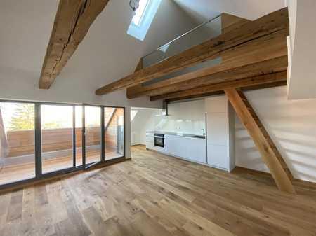 Für individuelles, anspruchvolles Wohnen: 2,5-Zimmer-Dachwohnung mit Galerie und Loggia in Altstadt, Innenstadt (Fürth)