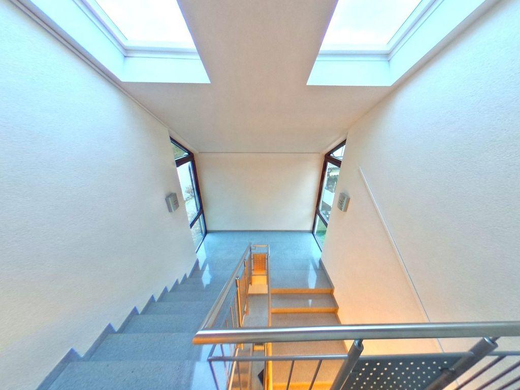 Außenliegendes Treppenhaus