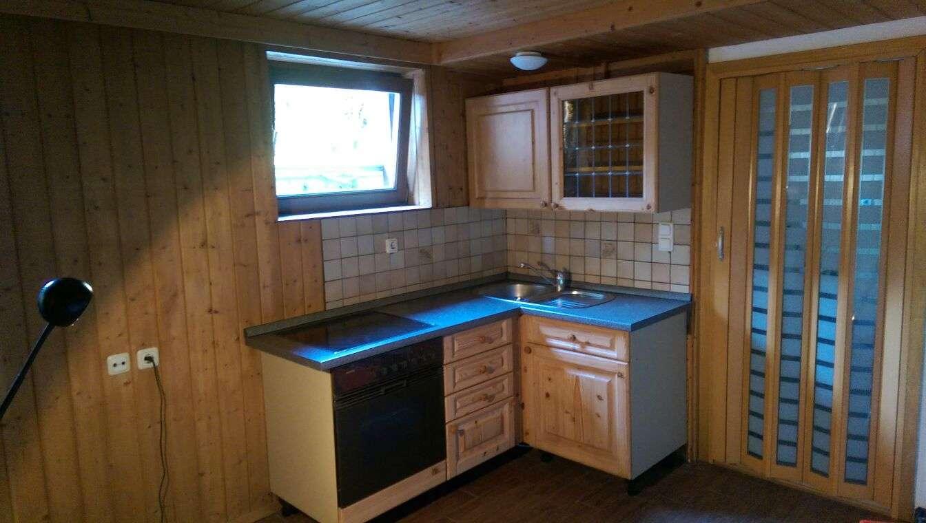 1,5-Zimmer-Wohnung mit Einbauküche + Terrasse + Garten in Kolbermoor-Süd (für 1 Person) in Kolbermoor