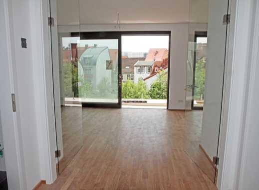 Licht durchflutete 3-Zimmer-Wohnung im Zentrum von Erfurt, Südbalkon, Blick auf Dom und Bergstrom
