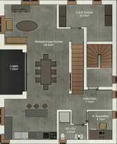 Große Maisonette Wohnung mit Blick