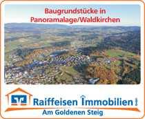 Baugrundstücke mit Panoramablick - Augenweide Waldkirchen -