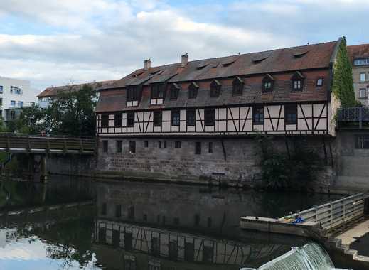 2-Zimmer-Wohnung, Nürnberg, direkt an der Pegnitz